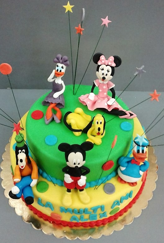 Tort copii Mickey & Friends 1