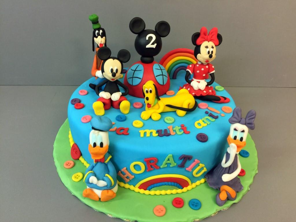 Tort copii Mickey & Friends 3
