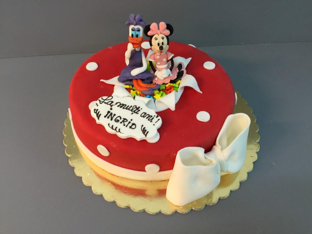 Tort copii Mickey & Minnie 2