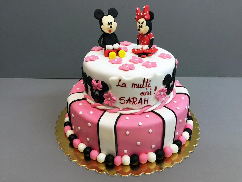 Tort copii Mickey & Minnie 3