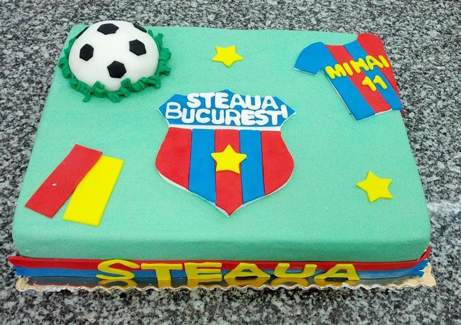Tort tematic suporter FC Steaua