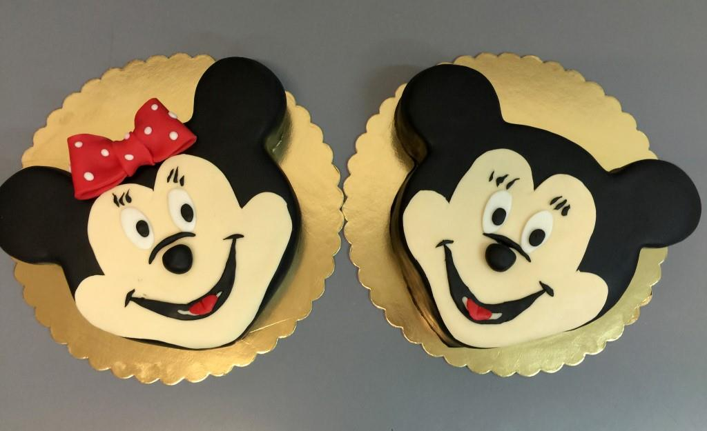 Torturi copii Mickey & Minnie 3D