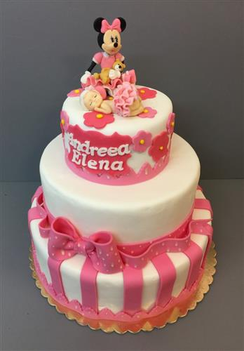 Tort botez Minnie
