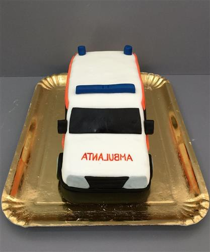 Tort tematic ambulanta 3D