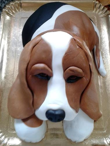 Tort tematic Beagle