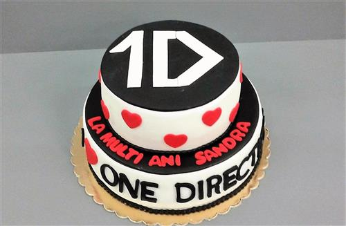 Tort tematic fan One Direction