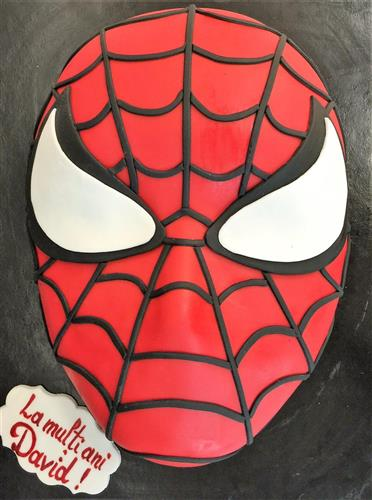 Tort tematic Spiderman 3D